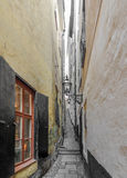Vista della città di Stoccolma Fotografia Stock