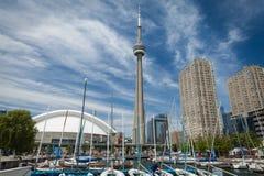 Vista della città di Toronto fotografia stock libera da diritti