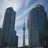 Vista della città di Toronto fotografia stock