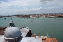 Vista della città di Venezia Fotografia Stock