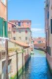 Vista della città di Venezia in Italia Fotografia Stock
