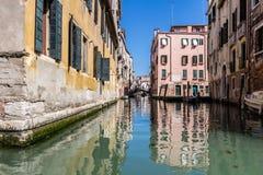 Vista della città di Venezia, Italia Fotografie Stock