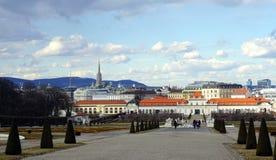 Vista della città di Vienna Fotografia Stock Libera da Diritti