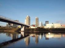 Vista della città di Vilnius Fotografie Stock Libere da Diritti