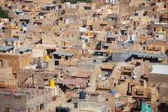 Vista della città, molte case della pietra Fotografia Stock Libera da Diritti