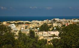Vista della città Pafo, Cipro Fotografia Stock