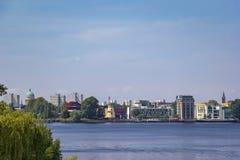 Vista della città Potsdam Fotografie Stock