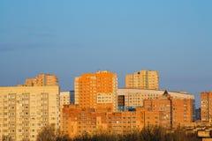 Vista della città, Russia Immagini Stock Libere da Diritti