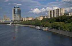 Vista della città della Russia Mosca Fotografie Stock