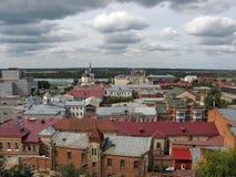 Vista della città siberiana Tomsk Fotografie Stock Libere da Diritti