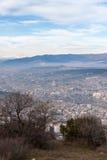 Vista della città di Tbilisi tbilisi Fotografia Stock Libera da Diritti