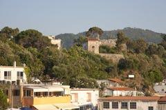 Vista della cittadina sull'isola Italia Fotografia Stock Libera da Diritti