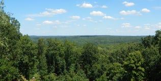 Vista della contea di Brown Fotografia Stock Libera da Diritti