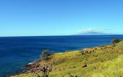 Vista della costa sud di Maui Fotografie Stock Libere da Diritti
