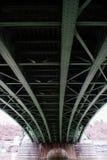 Vista della costruzione del ponte Immagini Stock Libere da Diritti