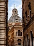 Vista della cupola della cattedrale Fotografia Stock