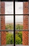 Vista della finestra Immagini Stock