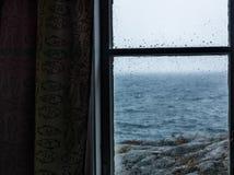 Vista della finestra Fotografie Stock