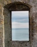 Vista della finestra Fotografia Stock