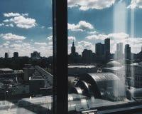 Vista della finestra Immagine Stock