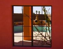 Vista della finestra di sud-ovest Fotografia Stock