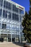 Vista della fonte della stazione di Shin-Aomori Immagine Stock