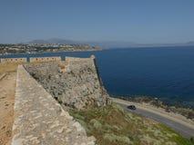 Vista della fortezza immagini stock