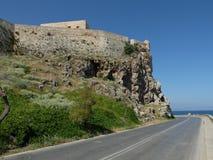 Vista della fortezza fotografie stock