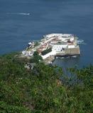 Vista della fortezza di Santa Cruz immagini stock