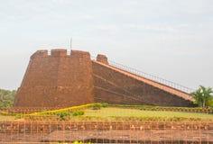 Vista della fortificazione di Bekal Fotografia Stock Libera da Diritti