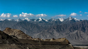 Vista della gamma di Himalyan Fotografie Stock