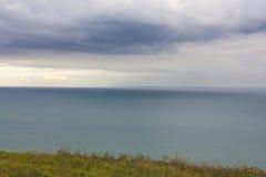 Vista della La Manica del canale Fotografia Stock