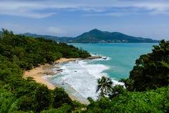 Vista della laguna di Phuket Fotografie Stock Libere da Diritti