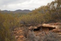 Vista della libbra dall'allerta rocciosa Fotografie Stock Libere da Diritti