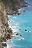 Vista della linea costiera Fotografia Stock Libera da Diritti