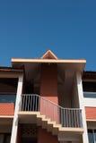 Vista della località di soggiorno in Kovalam immagine stock libera da diritti