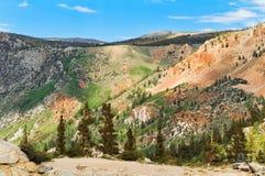 Vista della montagna Fotografia Stock Libera da Diritti