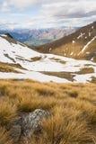 Vista della montagna di Remarkables Immagine Stock Libera da Diritti