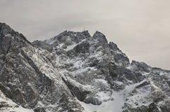 Vista della montagna di Zugspitze bavaria germany immagine stock