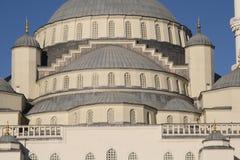 Vista della moschea blu famosa immagine stock libera da diritti