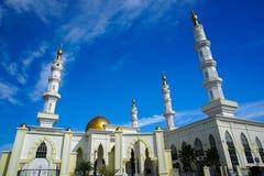 vista della moschea di ismailismo in kelantan Malesia Fotografia Stock