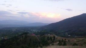 Vista della natura delle montagne Pakistan Immagine Stock
