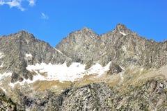 Vista della natura in Pyrenees francesi Immagini Stock