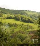 Vista della natura in Stara Planina, Bulgaria. Immagini Stock