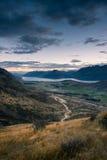 Vista della Nuova Zelanda Fotografie Stock Libere da Diritti