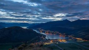 Vista della Nuova Zelanda Fotografia Stock Libera da Diritti