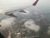 vista della nuvola da airplne Immagine Stock Libera da Diritti