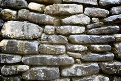Vista della parete di pietra Fotografie Stock