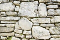 Vista della parete di pietra Fotografia Stock Libera da Diritti