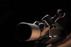 Vista della parte anteriore AR-15 Fotografia Stock Libera da Diritti
